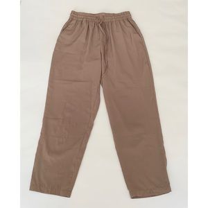 camel pull-on pants